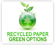Recycled Paper Option